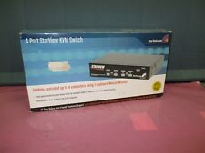 New in Box STARVIEW SV431 KVM Switch 4 port PS/2!