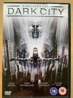 Dark City DVD 1998 Cult Sci-Fi Classic w/ Jennifer Connelly Rare Director's Cut