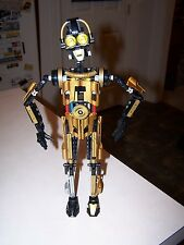 Lego 8007 C-3PO Star Wars Technic Figure 100% Complete