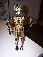 Lego 8007 C-3PO Star Wars Technic Figure 100% Complete