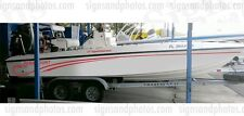 Paramount Boat Logo Red Graphic Decals