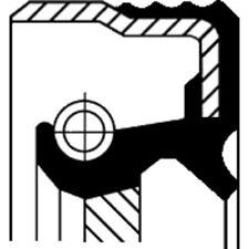 CORTECO WELLENDICHTRING, KURBELWELLE ALFA ROMEO, AUDI, AUSTIN, 12001540B