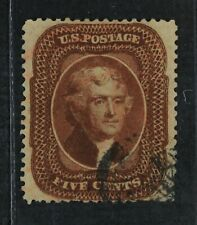 CKStamps: US Stamps Collection Scott#30 5c Jefferson Used