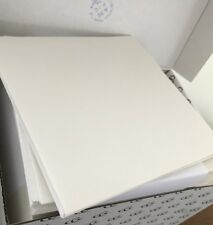 50 Envelopes 185 X 185 mm 135gsm Textured Ivory Made In France Peel + Seal