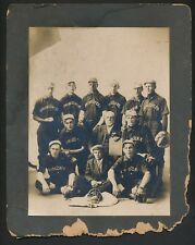1905 Integrated Cabinet Photograph (Spring Creek) with BLACK STAR PITCHER