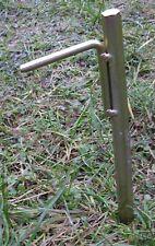 4 Stück 30cm  extrem stabile Zelthering Bodenanker Erdspieße Bauanker