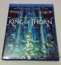KING OF THORN - EL REY ESPINO - COMBO BLURAY + DVD - NEW & SEALED - NUEVA