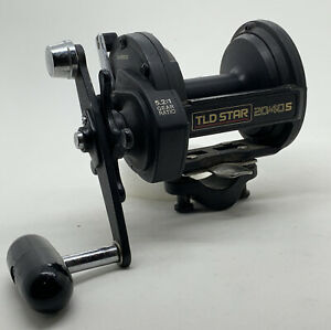Shimano TLD STAR 20/40S Conventional Fishing Reel Made In Japan