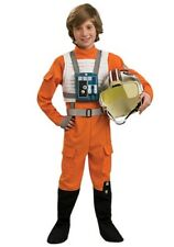 CHILD X-WING PILOT COSTUME SIZE LARGE 12-14 (missing helmet)