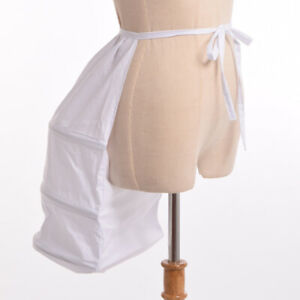 Victorian Bustle Petticoat Crinoline Steampunk Dress Gown Costume Cage Frame