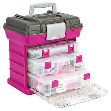 Creative Options Medium Grab N Go Rack System With 3 Organisers Magenta