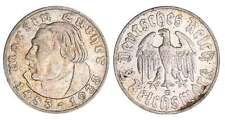 Allemagne - Deutsches Reich - 2 reichsmark 1933 G (Karlsruhe)
