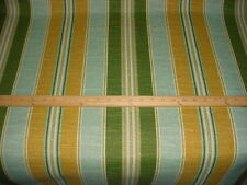 1+y CANADIAN MACO MUSTARD / SPRUCE  INDOOR / OUTDOOR UPHOLSTERY FABRIC
