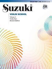 Suzuki Violin School Violin Part & CD, Volume 6 von Shinichi Suzuki (2013, Taschenbuch)