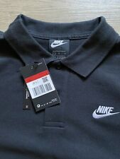 NIKE Shirt Gr. L - Sportswear Poloshirt in schwarz - NEU und ungetragen