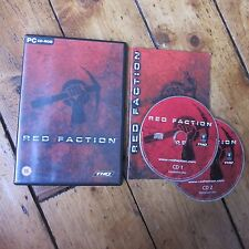 Red Faction 1 Original Windows PC Game Complete w Instructions Free Post