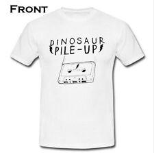 DINOSAUR PILE-UP English GRUNGE band 2 Side Hole Nirvana T-shirt S M L XL 2XL
