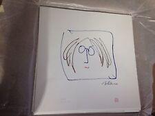 """John Lennon """"Self Portrait"""" - Serigraph - On Paper - Beatles"""