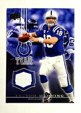New listing PEYTON MANNING JERSEY PATCH FOOTBALL 2008 UD CARD TC-PM SP COLTS MVP NFL BRONCO