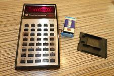 1 Stück Texas Instruments TI 30 Taschenrechner. Alt-Version Rot (263)