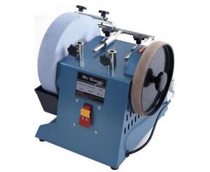 220V Electric Knife Sharpener Low Speed Grinding Machine Water-cooled Grinder