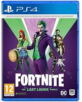 Fortnite The Last Laugh Bundle Sony Playstation 4 PS4