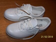 DREW BRAND WHITE LEATHER SZ 7N LACE-UP OXFORDS DIABETIC ORTHOPEDIC SHOES