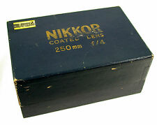 NIKON Nikkor-H.C 4/25cm 25cm 250mm F4 Nippon Kogaku S2 SP S3 S-series top !! OVP