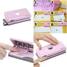 Diary Punch 6 Holes Organizer Adjustable Personal Notebook Planner Hole Puncher
