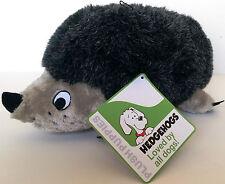 Outward Hound Plush Puppies Hedgehog XL Dog Plush Squeak Toy Kyjen PP01529