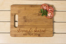 Wedding Gift for couple, Kitchen decor, Personalized Cutting Board, Wedding Gift