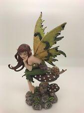 Amy Brown Design Fairy-Meadow Faery W/Snail On Mushroom (2A)