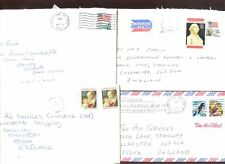 USA 1989,  4 Commercial Covers #C47961
