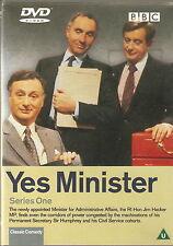 YES MINISTER - Series 1. Paul Eddington, Nigel Hawthorne.  BBC 1980 (DVD 2001)