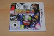 Boulder Dash-XL 3D Nintendo 3 DS UK PAL (no manual) ** FREE UK LIVRAISON **
