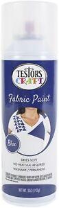 Testors-Testor Craft Fabric Spray Paint-Blue