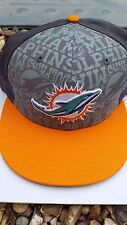 Authentic NFL Miami Dolphins Baseball Cap Adjustable *NEW WITHOUT TAGS*