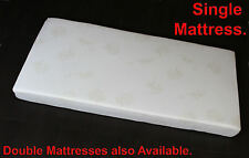 SINGLE MATTRESS - HEAVY DENSITY FOAM WITH REMOVABLE COVER - SAVE 60% OFF RETAIL