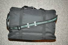 "LEHMAN BROTHERS ~ "" CANVAS WEEKENDER BAG ""  ~ PADDED COMPUTER POCKET ~ NEW!"