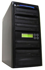 4 Burner 24X CD DVD Disc Duplicator Copier Multi Dual Layer Standalone Recorder
