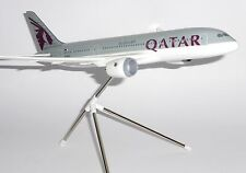 Boeing 787-8 Qatar Airways Doha Risesoon Skymarks Corporate Resin Model 1:200