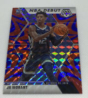 2019-2020 Mosaic Basketball, JA MORANT RC, NBA Debut, Red and Blue PRIZM! Rookie