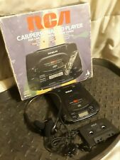 Rca Rp-7904A Portable Cd Discman Walkman Player Box Cassette Headphones Car Kit