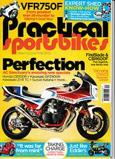 Practical Sportsbikes Issue 52 CB1100R GPz900R Z1-R TC XJ650 Turbo Z1100R 888