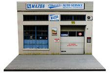 Diorama garage Mazda - 1/24ème - #24-2-E-E-013