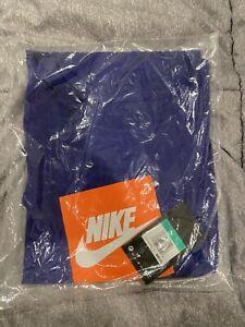 Nike Mens Futura Box Logo Long Sleeve T-Shirt AJ3873-100 Sz XL Purple/orange NWT