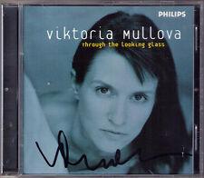 Viktoria MULLOVA Signiert THROUGH THE LOOKING GLASS Matthew Barley CD Teen Town
