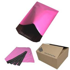 Pink Colour Mailing Bags