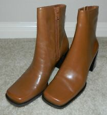NINE & COMPANY Nelson Tan/Light Brown Mid Calf Boots, Sz. 6M ~ NEW WITH BOX