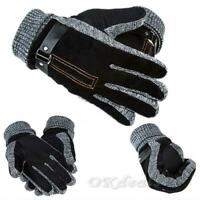 chaud chaud la conduite du cuir épaissir des mitaines coupe - vent les gants